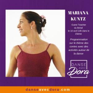 GUEST TEACHER: MARIANA KUNTZ!