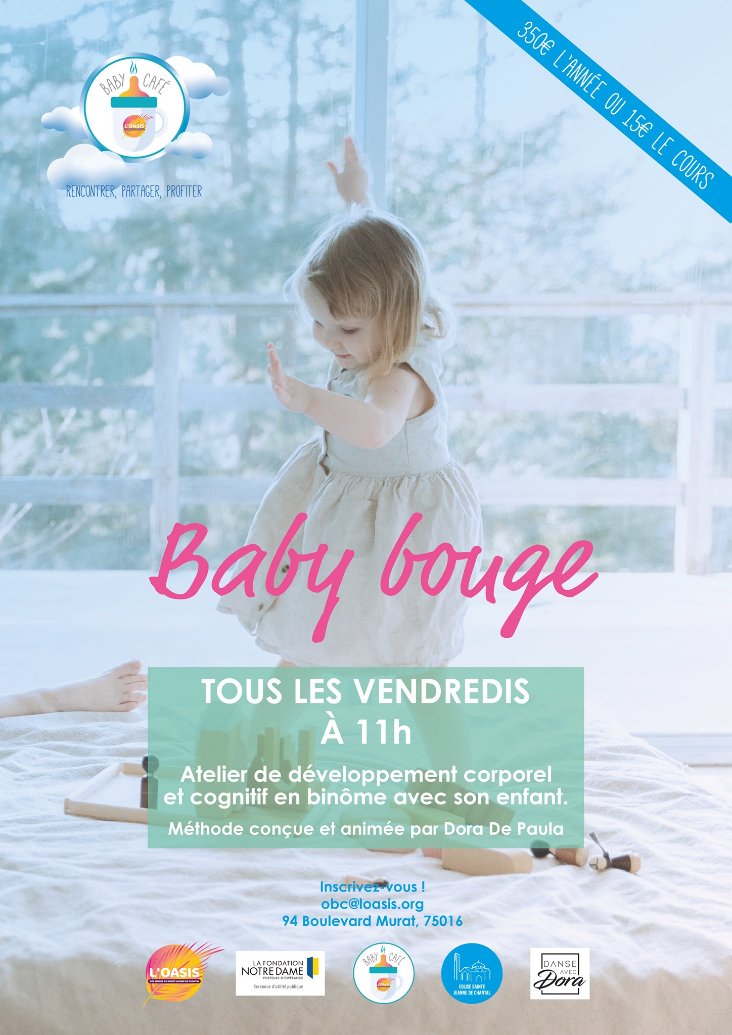 BABY BOUGE : SEANCE OFFERTE!